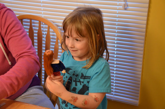 Six-year-old Girl Designs First Doll In Space!