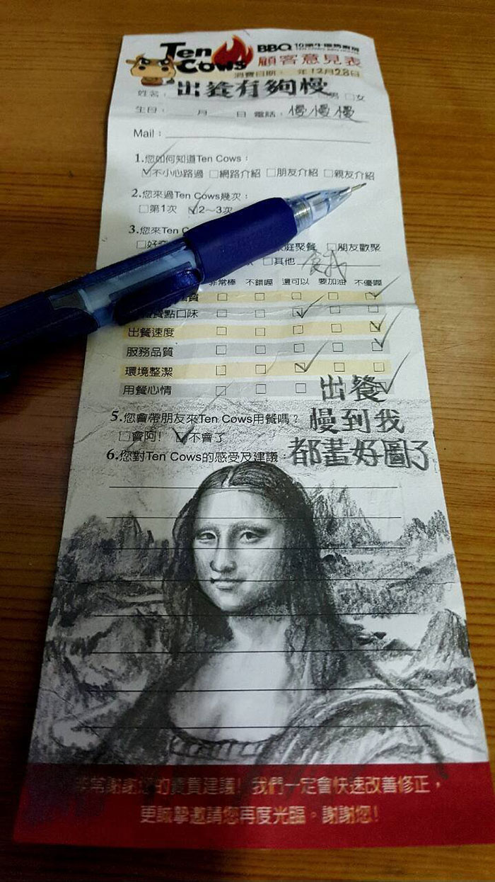 slow-service-restaurant-customer-draws-mona-lisa-1