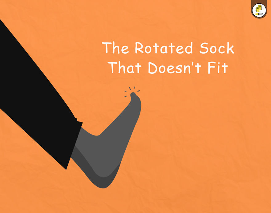 The Rotated Sock