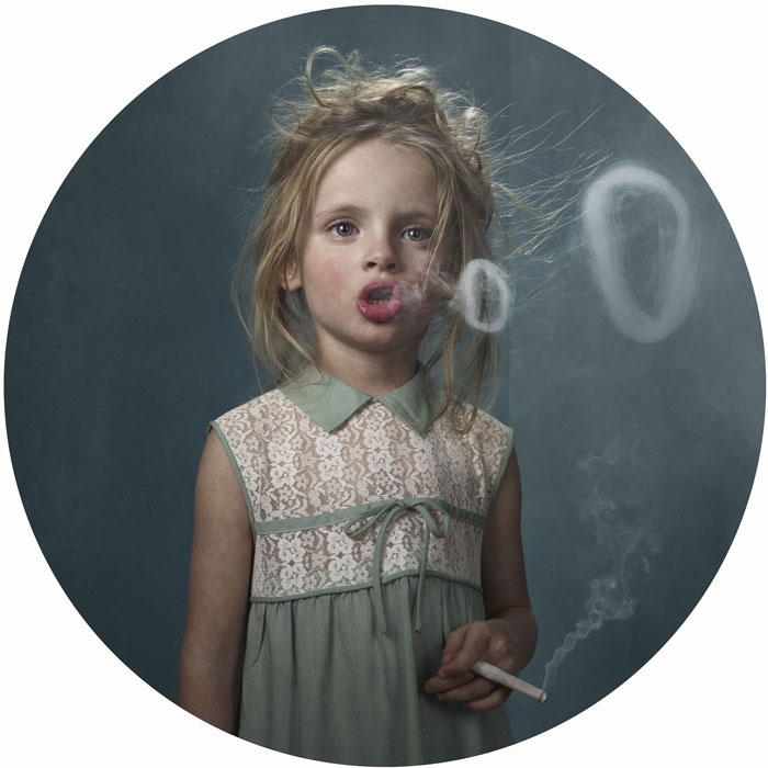 Smoking Kids: Photoshoot Shows How Adults Influence Youth