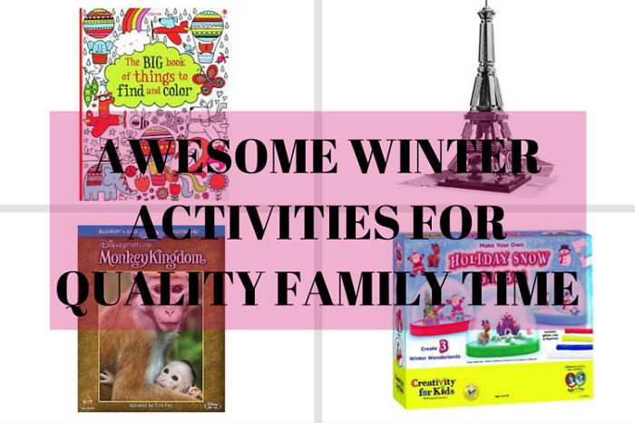 Some Ideas For Relaxing Winter Family Time