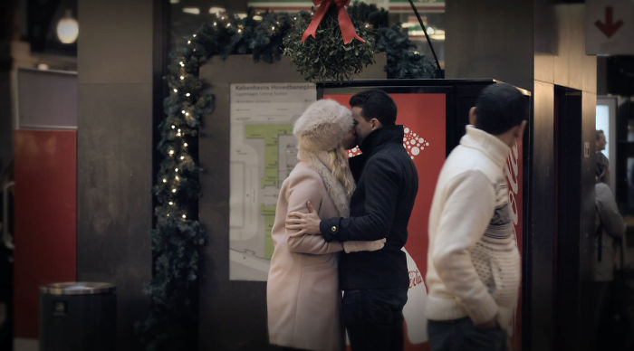 Sometimes You Are Lucky Enough To Get More Than A Kiss Under A Mistletoe …