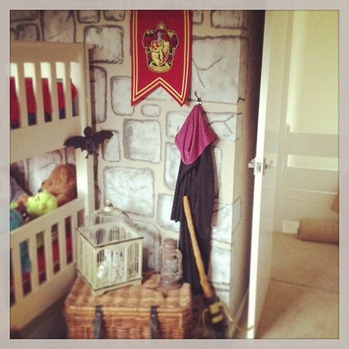 Son Wanted A Harry Potter Room
