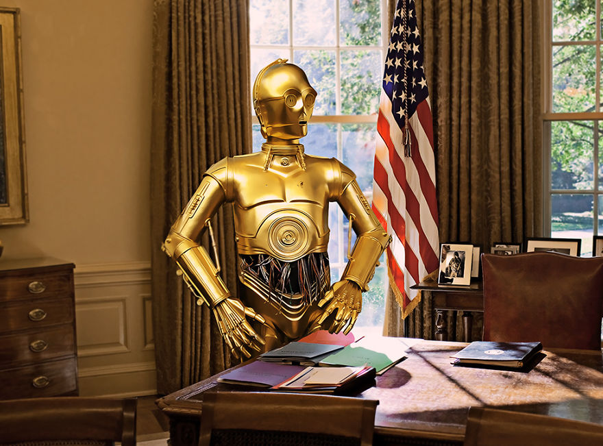 C-3po In The US President's Place
