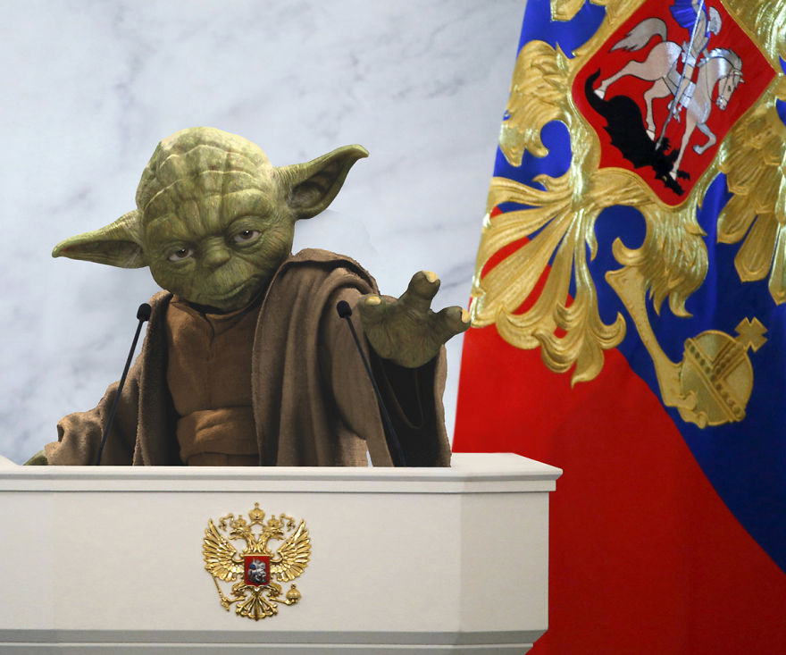 Yoda As The Russian President