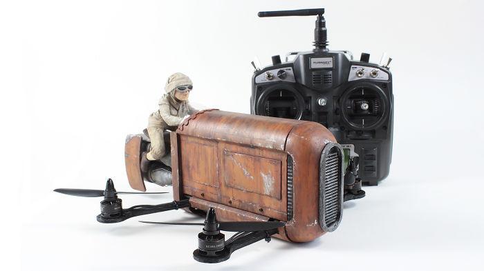 Star Wars Inspired Rey's Speeder Quadcopter