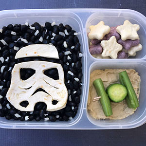 I Make My Kids Star Wars Lunches To Take To School