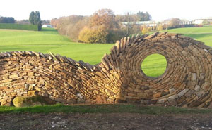 Former Bricklayer Turns Stones Into Works Of Art