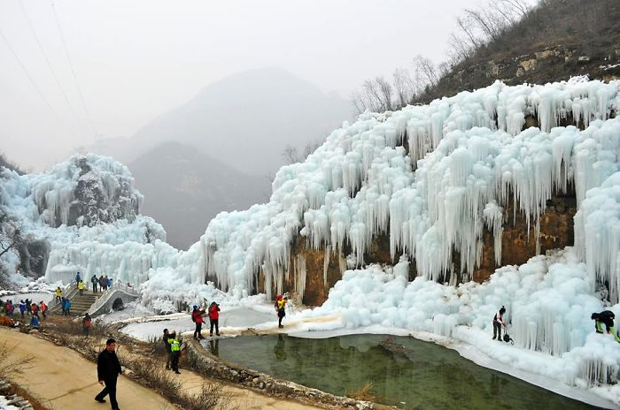 Stunning Pictures Of Icy Fairyland