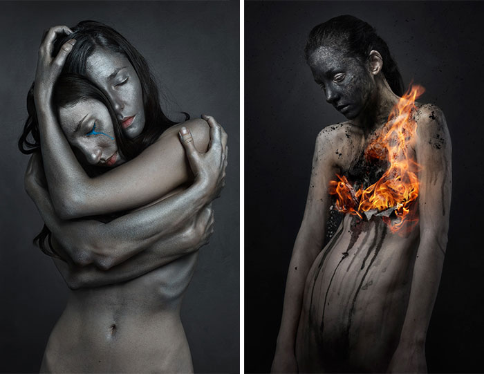 I Take Surreal Self-Portraits To Show How We Feel In Our Darkest Moments