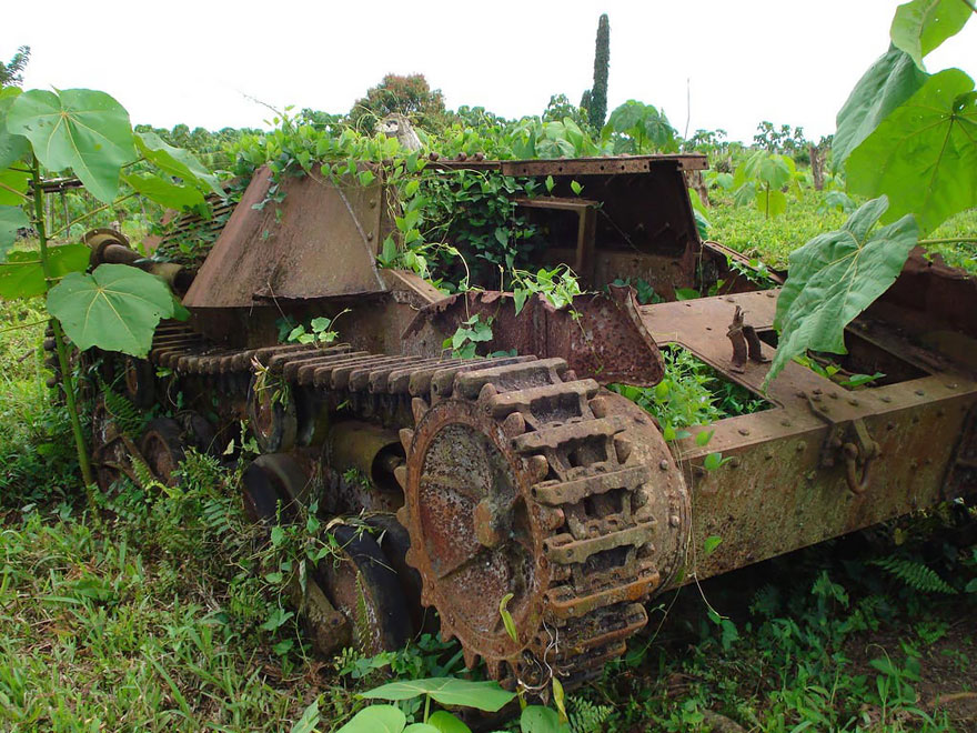 坦克接管自然
