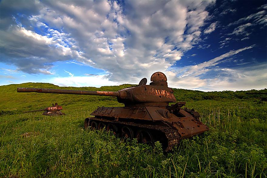 Zheltuchin Island, Russia