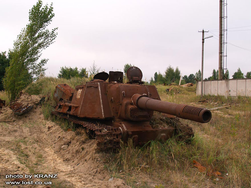 Abandoned Tank Somewhere In Russia