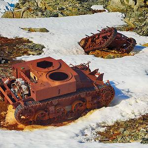 Tanks In Antarctica