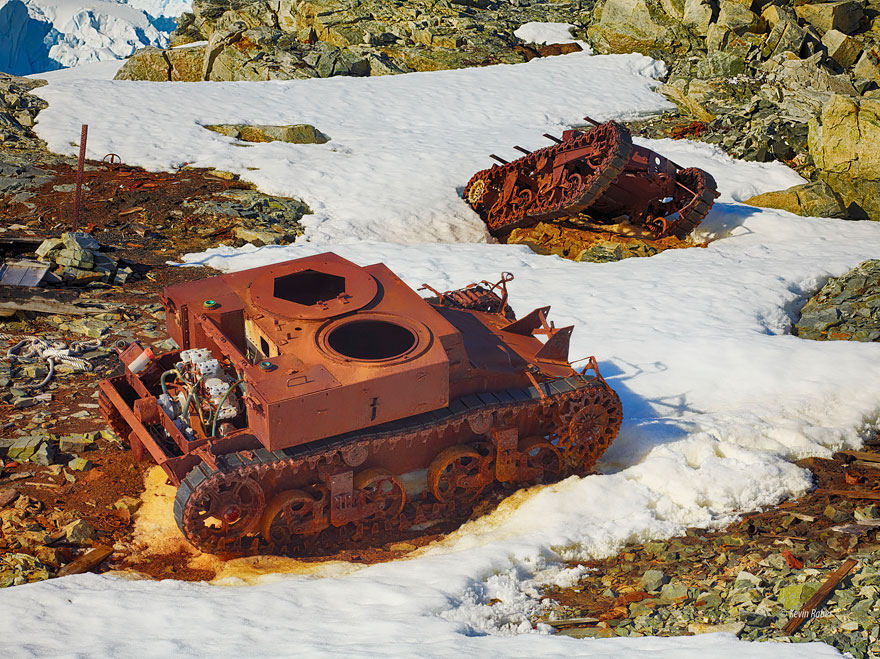 Tanks In Antarctica