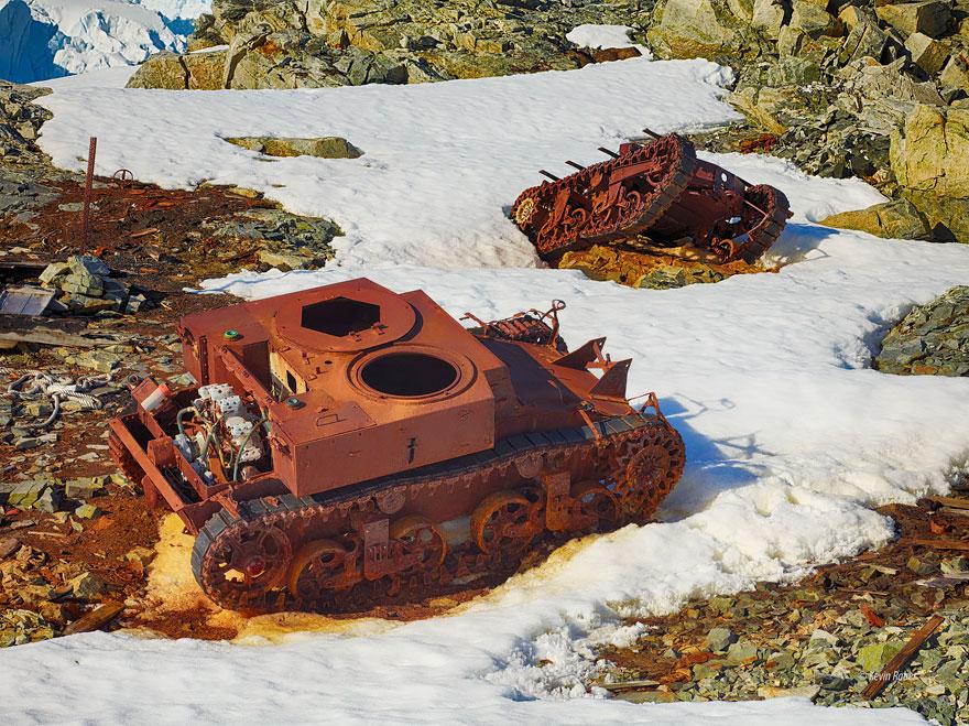 坦克在南极洲