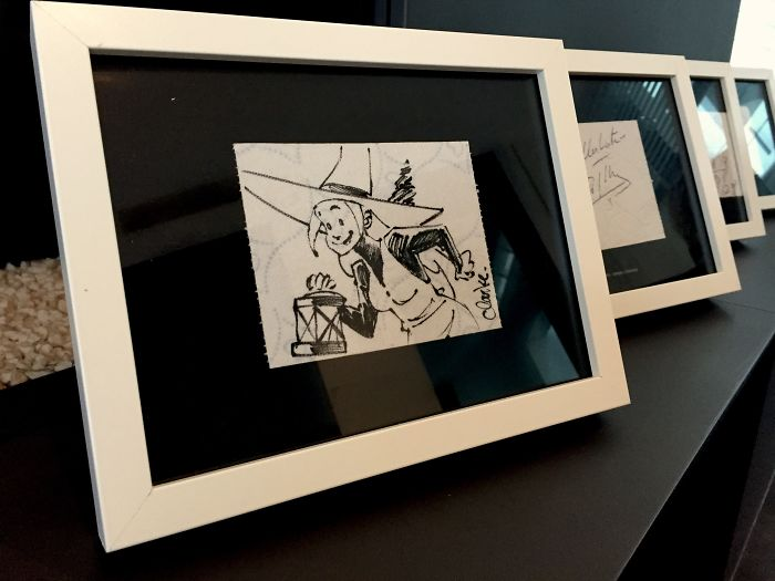 Toilet Paper Becomes Celebrity Art In Brussels, Belgium