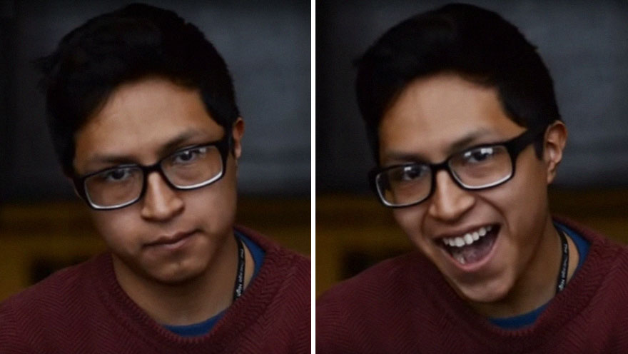 Student Captures What Happens When People Are Told They Are Beautiful