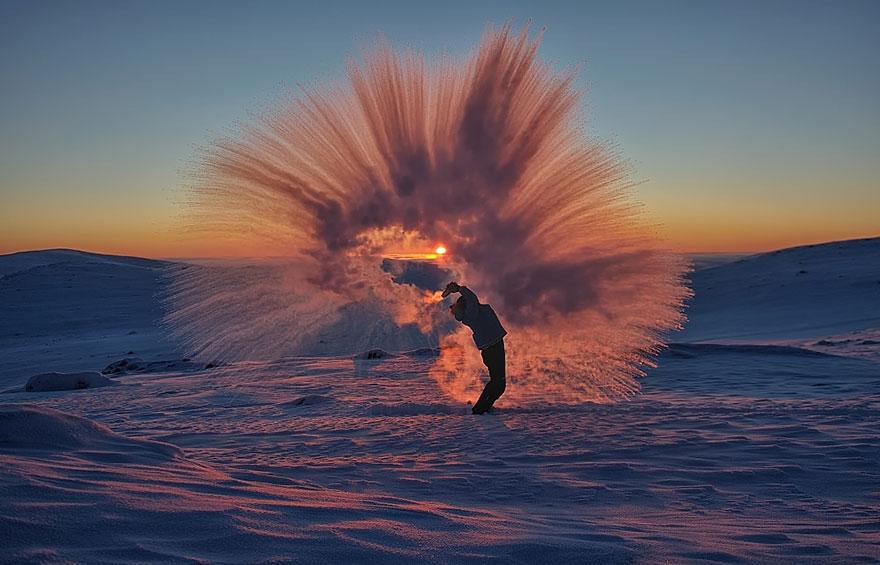 ceai ingheat la cercul arctic la -40 de grade 3
