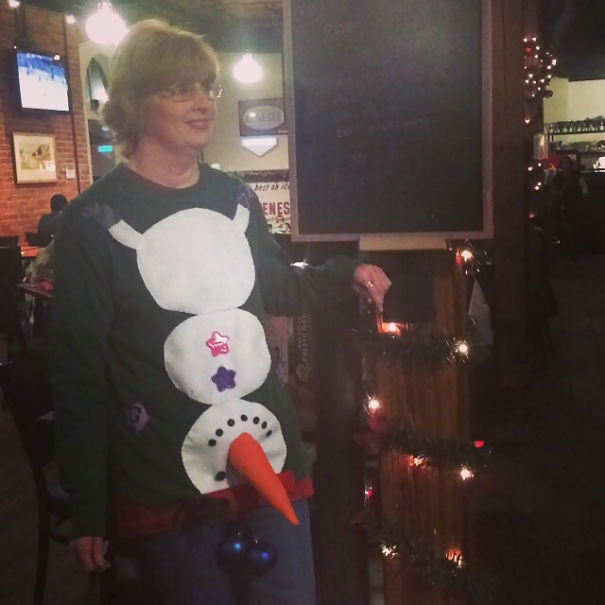 Ugly Christmas Sweater Done Right