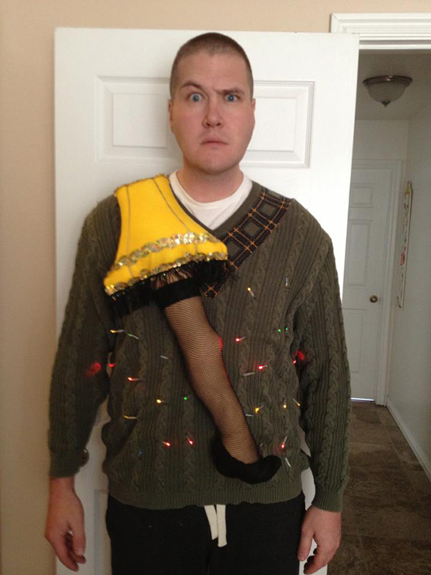 Ugliest Christmas Sweater.44 Of The Ugliest Christmas Sweaters Ever Submit Yours