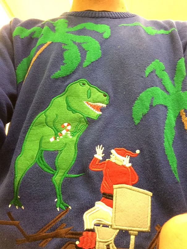 Mom Bought Me This Christmas Sweater
