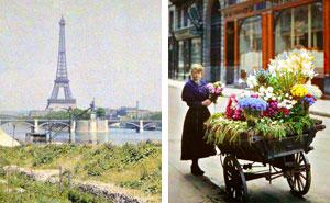 Rare Color Photos Of Paris Taken 100 Years Ago