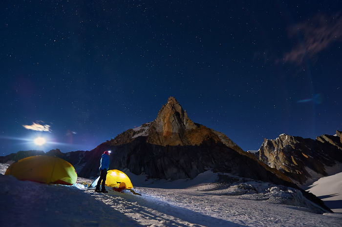 We Went Camping On Alpine Glaciers To Capture The Beauty Of The Starry Skies