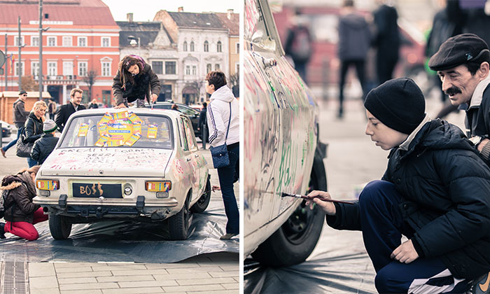 What Happens If You Leave A Car In The City Center Of Cluj, Romania?