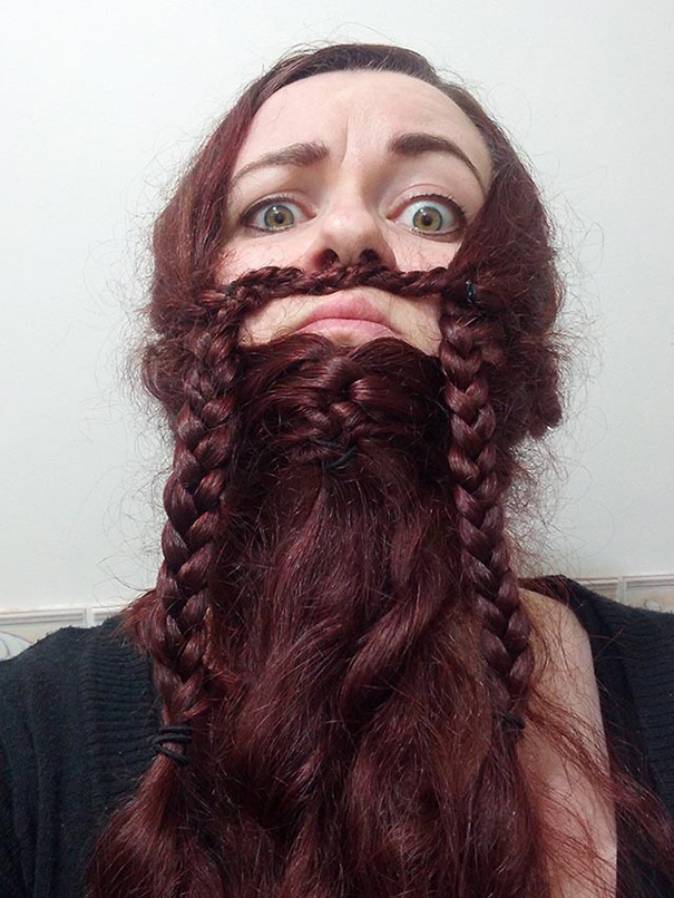 I Attempted The Gimli Braided Ladybeard