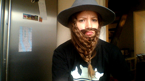 Adding A Hat To My Feeble Attempt At A Gimli Beard Seems To Make Me Look Jewish