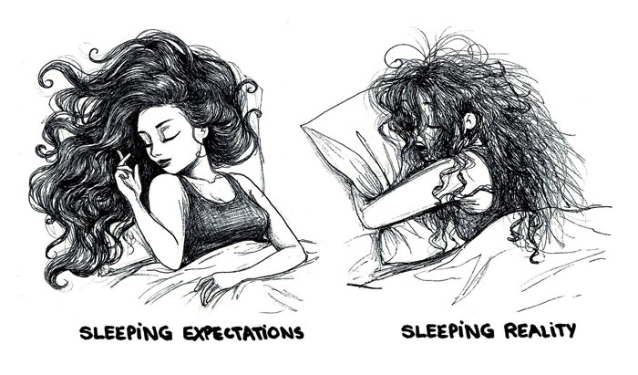 Women's Everyday Problems Illustrated By Romanian Artist