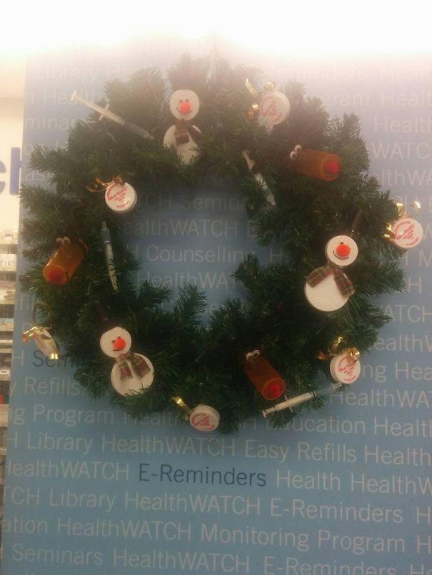 Pharmacy Tech Wreath