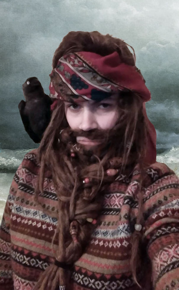 Captain Black Jackdaw