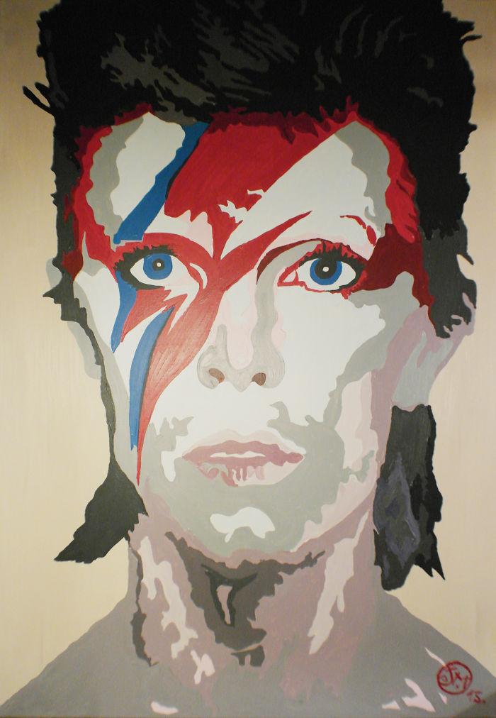 David Bowie By Jm Art-little.com