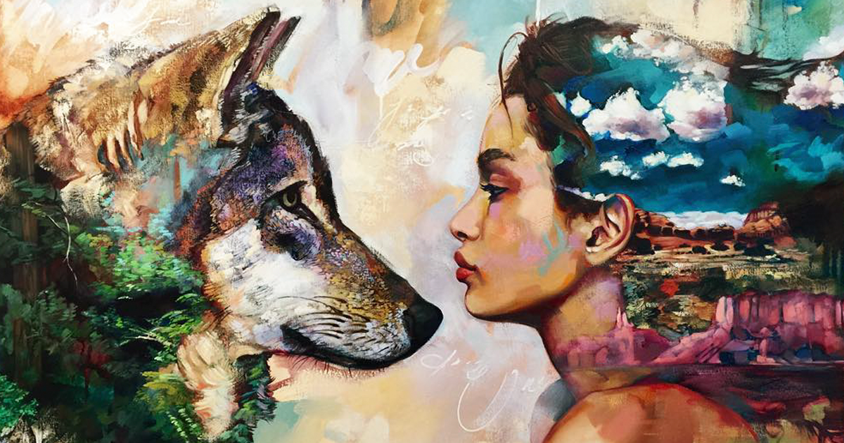 Talented 16-Year-Old Artist Turns Her Wildest Dreams Into Paintings