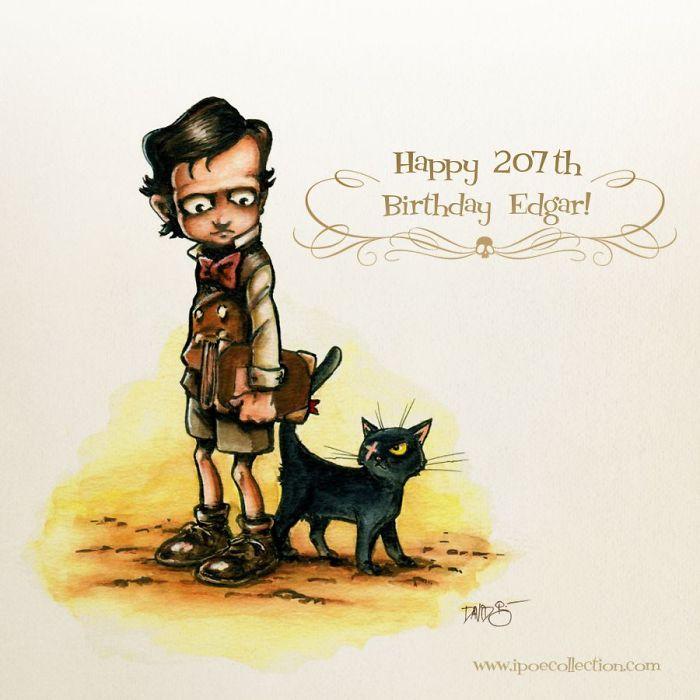 19th Of January: Happy Birthday Edgar Allan Poe!