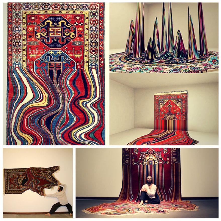 The Fluid Carpet - Faig Ahmed From Baku Created These Spectacular Carpets