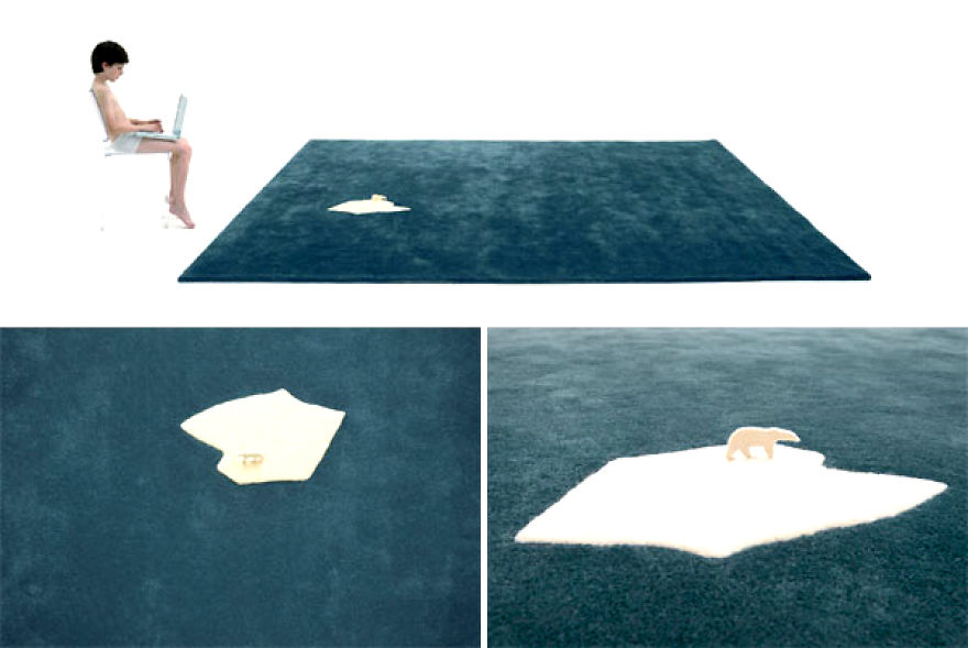 The Global Warming Rug - Designed By Nel Collective In 2008