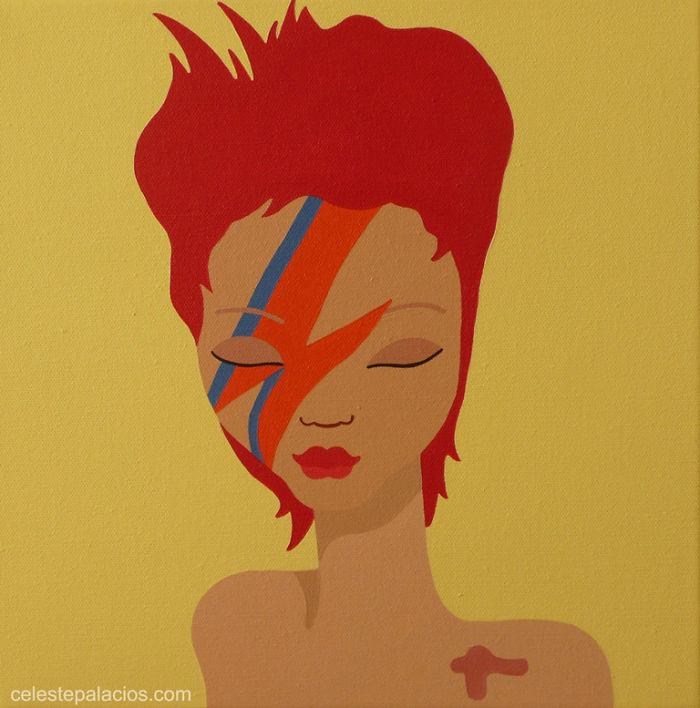 Thank You David Bowie For Being A True Inspiration.