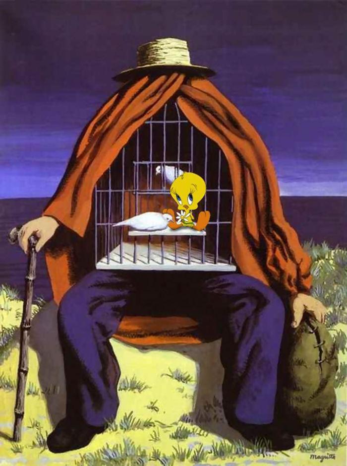 René Magritte's La Thérapeute