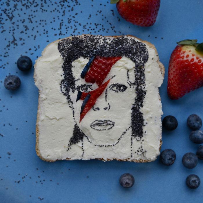 Tribute To Ziggy Stardust By Jolita Vaitkute