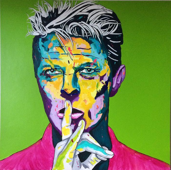 David Bowie By Ronald Hofman