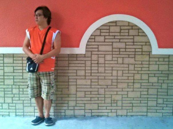 My Bro Vs. The Wall...