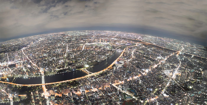 I Photographed Tokyo North Tripod Using 50+ Raw Photos!