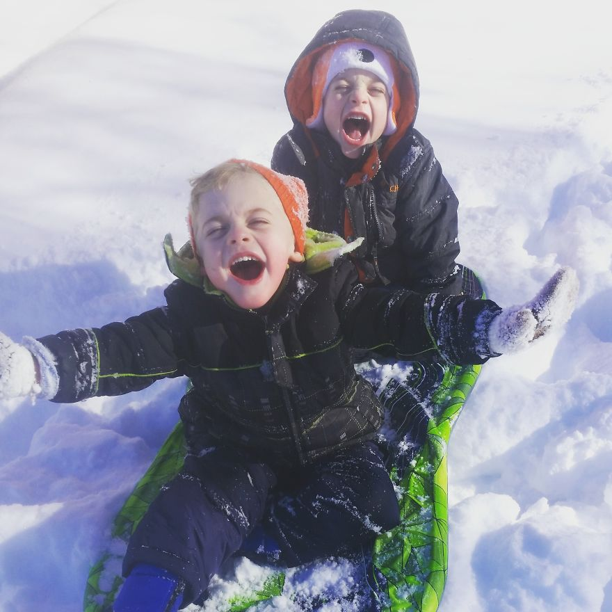 Sledding In South Jersey