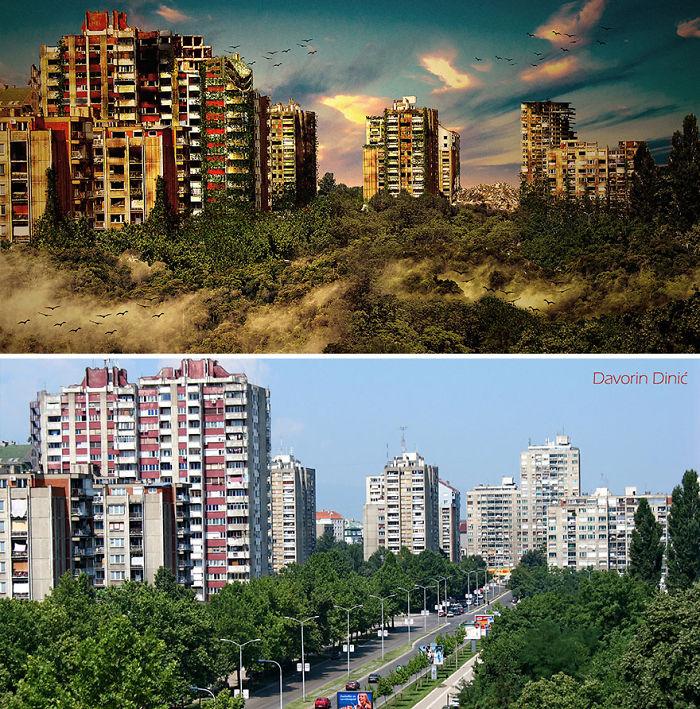 Post-apocalyptic Town