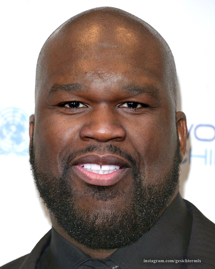 Shaq And 50 Cent Mixed