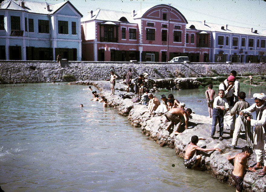 Swimming In The Kabul River