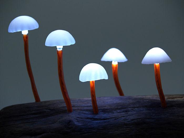 Amazing Led Mushroom Lamps